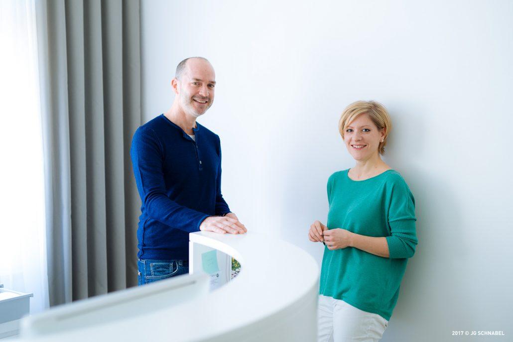 Andreas Zapff und Tamara Hussendörfer